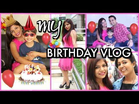 My Birthday Vlog Shopping Outfit Gifts Food & Celebration | SuperPrincessjo