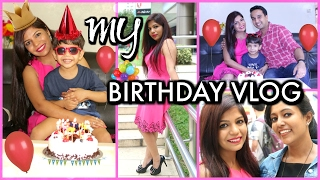 My Birthday Vlog Shopping Outfit Gifts Food & Celebration | SuperPrincessjo