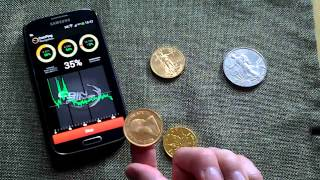 CoinPing identify four coins with ping test