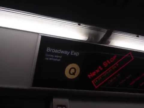 this is the video of the n train at city hall.i was in the lower level in city hall!