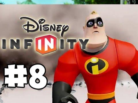 Disney Infinity - Gameplay Walkthrough Part 8 - Introducing DASH! (HD)