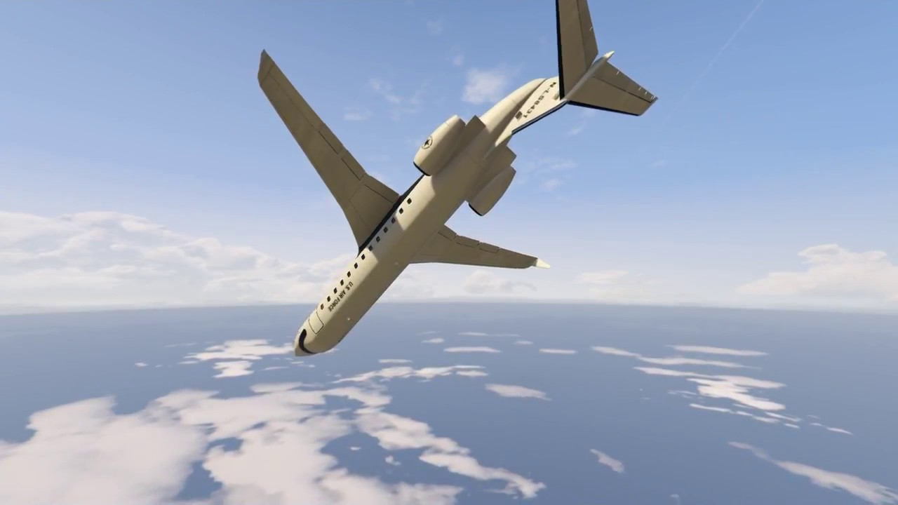 Gta 5 Alaska Airlines Flight 261 Cutting Corners Youtube
