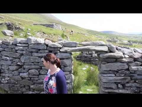 County Mayo: Deserted Famine Village on Achill Island