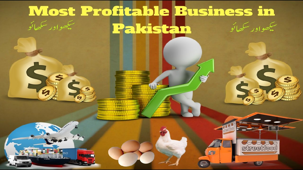 Most Profitable Small Businesses In Pakistan Profitable Business Ideas  Youtube