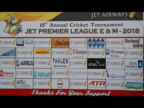 JET PREMIERE LEAGUE ENGG & MAINT 2018