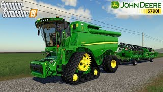 Farming Simulator 19 - JOHN DEERE S700I SERIES EUROPEAN OFFICIAL