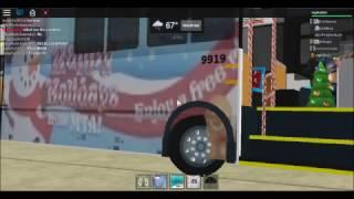Roblox MTA Maryland:Bus Fanning on Cromwell(CHRISTMAS)