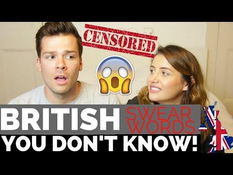 🇬🇧Very British Swear Words! 🔥