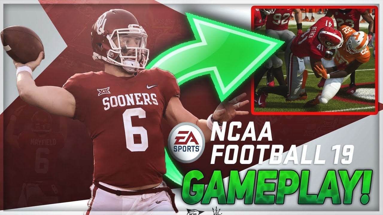 NCAA Football Mod for Madden 19 GAMEPLAY! | Madden 19 News