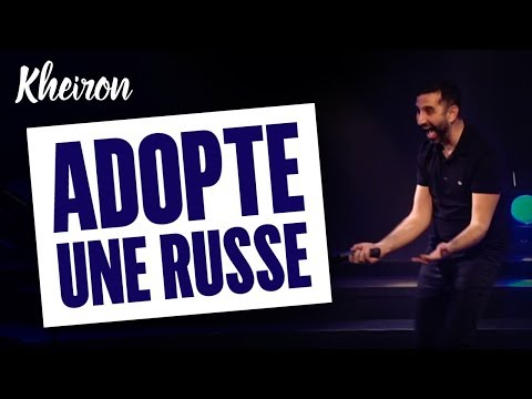 60 MINUTES AVEC KHEIRON - ADOPTE UNE RUSSE