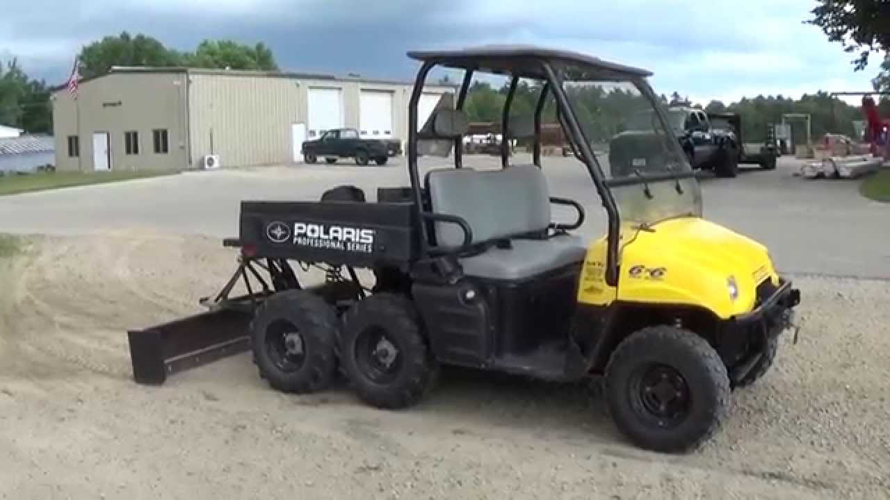 Polaris Ranger 6x6 Youtube Autos Post