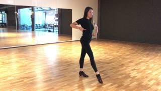 Katya Jones - Technique - basic movement rumba / cha cha