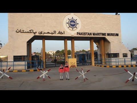 Maritime Museum Park Karachi.