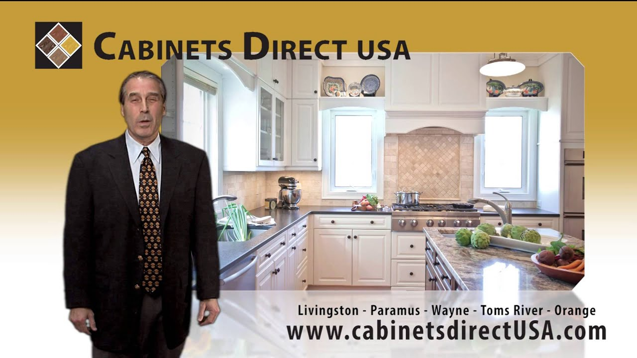 Merveilleux Cabinets Direct USA 15 Second TV Spot With Dave Lubetkin