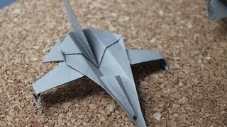 How To Make Origami Jet
