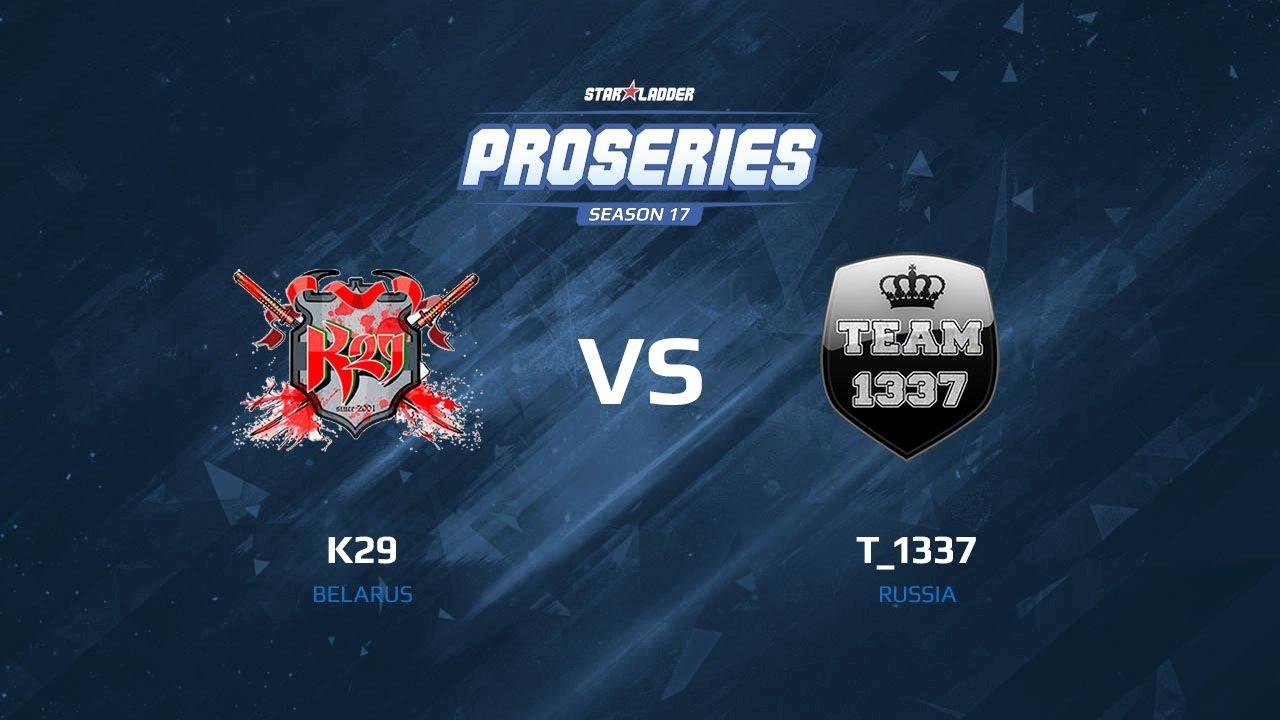 k29 vs T_1337, map 3 mirage, SLTV Pro Series Season 17
