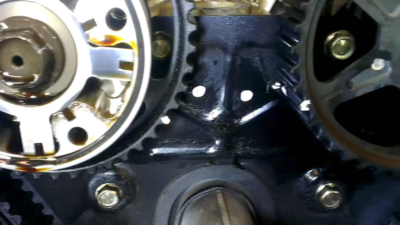 Mazda Mx5 Miata Timing Belt Change Camshaft Marks