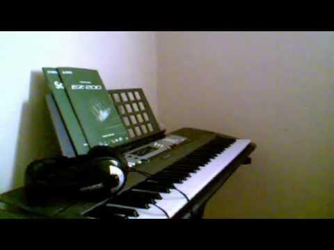 My Piano Setup: Synthesia with Yamaha EZ-200