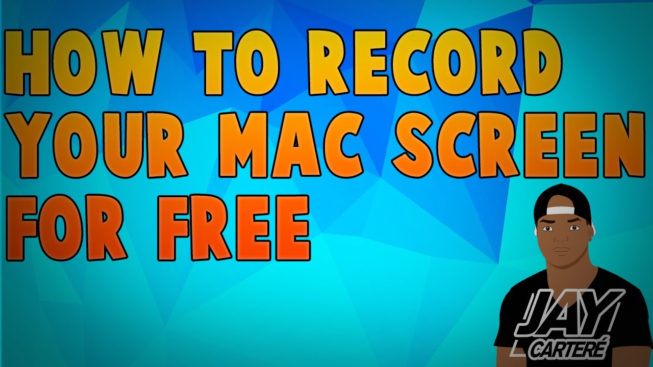 How To Record Your Mac Screen With Audio For Free - Quicktime Player Screen  Capture Tutorial