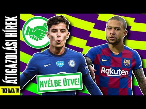 A Chelsea egy lépésre Kai Havertz-től! Memphis Depay a Barcelonában?