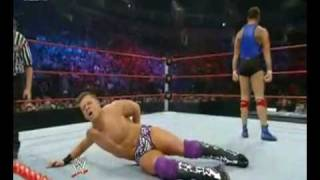 Cobra attempt on The Miz by Santino Marella