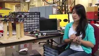 Robotics Institute Summer Scholars : 2014 : Micah Corah, Li Liu & Tiffany Miki Bassey