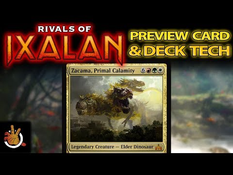 Rivals of Ixalan Preview & Deck Tech - Zacama | The Command Zone #192 | Magic the Gathering