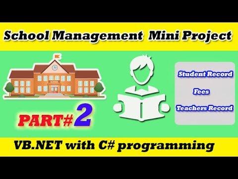 Download - student management system in vb video, pr ytb lv