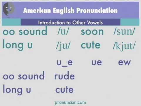 Intro to Other Vowels Video — Pronuncian: American English