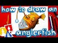 How To Draw An Anglerfish