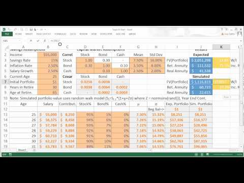 FinMod 8 Personal Finance Portfolio Simulations