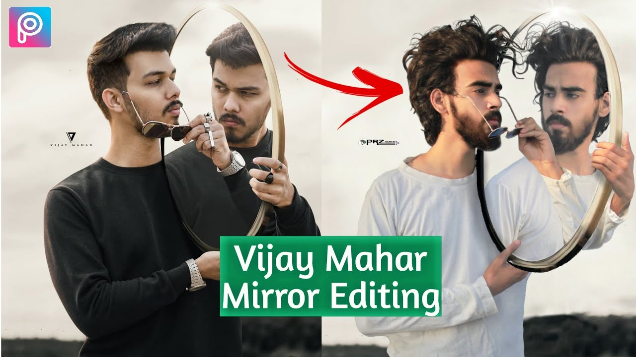 Mirror Concept Art Of Famous Vijay Mahar Creating In