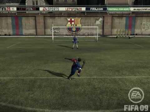 FIFA 09 How To Do Arena Bicycle Kicks