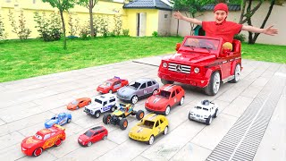 How Many Toy Cars Does it Take to Pull a Power Wheels Car