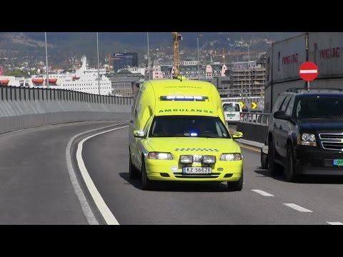 Ambulanse 257 Oslo Ullevål Universitetssykehus