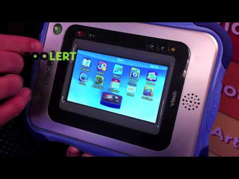ZooLert - VTech InnoPad In Use Video At 2011 NY Toy Fair