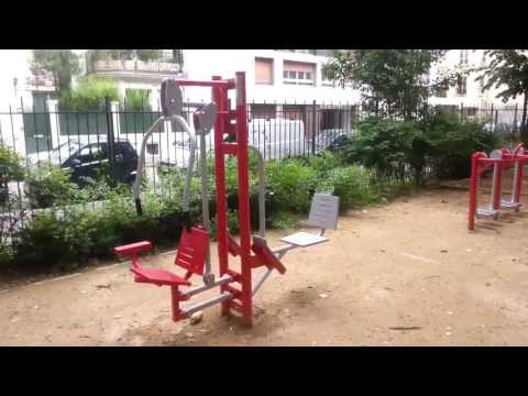 Paris offers free weight machines. Add a workout to that jog. Lose weight on vacation! WHOA