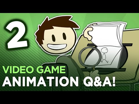 Animation Q&A - #2 - Dan Answers MORE Animation Questions!