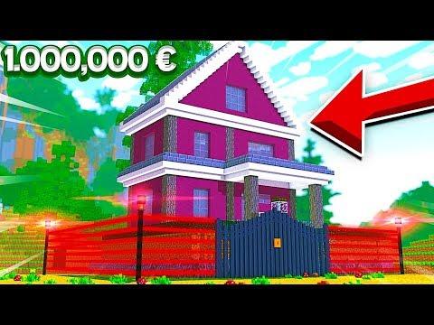 MA NOUVELLE MAISON REDSTONE À 1,000,000 € ! | Minecraft !