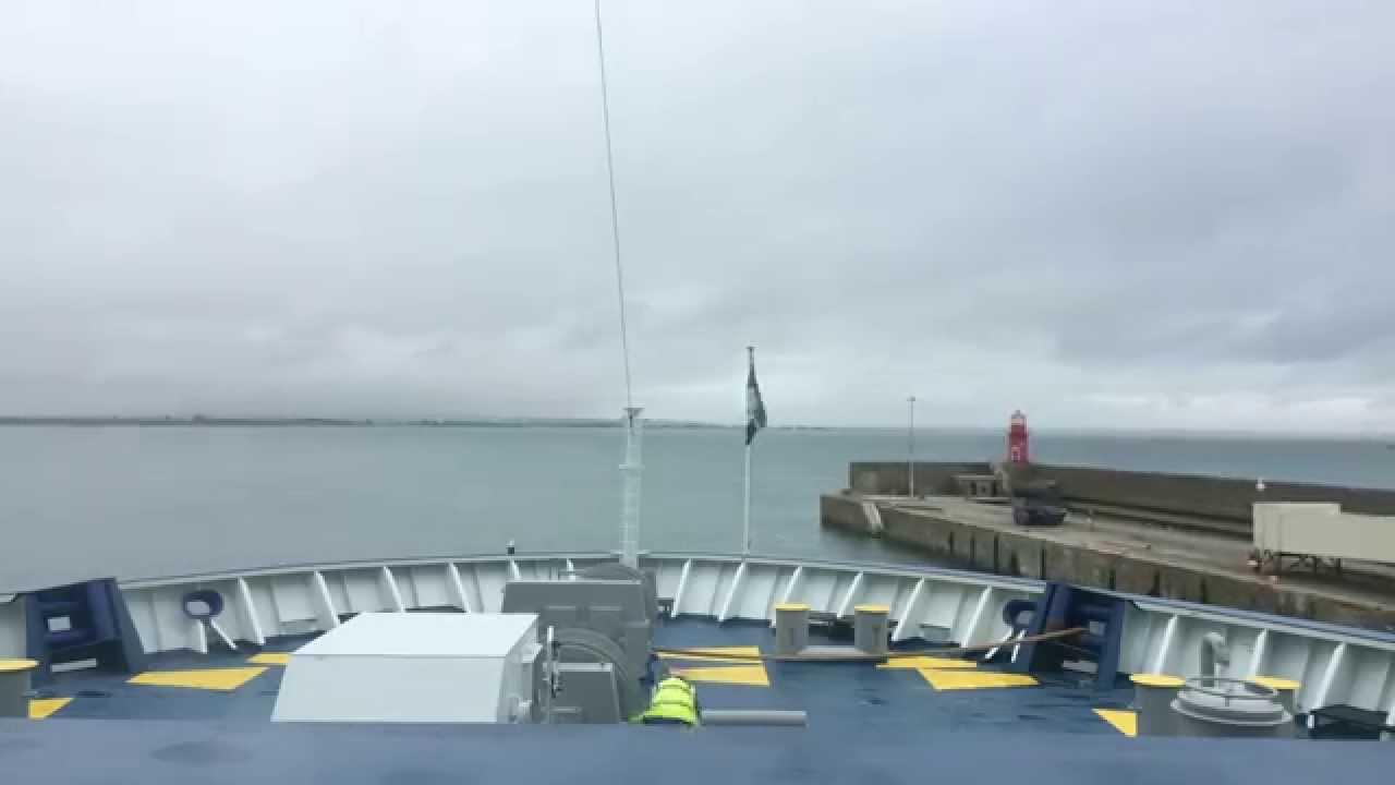 Irish ferries 39 oscar wilde docking in rosslare timelapse - Rosslare ferry port arrivals ...