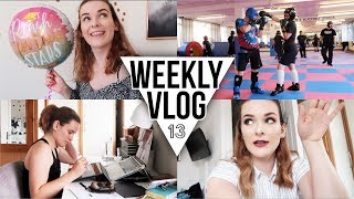 lots of work an exciting new project weekly vlog 13