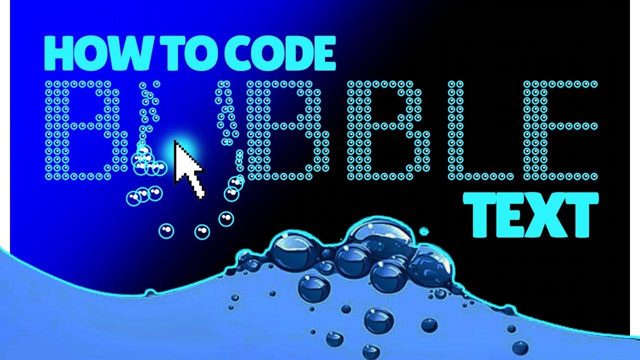 HTML5 Canvas Text Animation Tutorial [HTML, CSS, JavaScript]