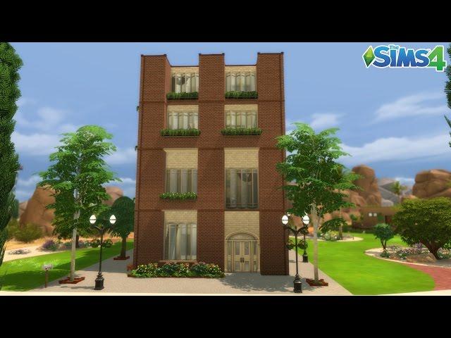 Les Sims 4 : L Immeuble dOasis Spring