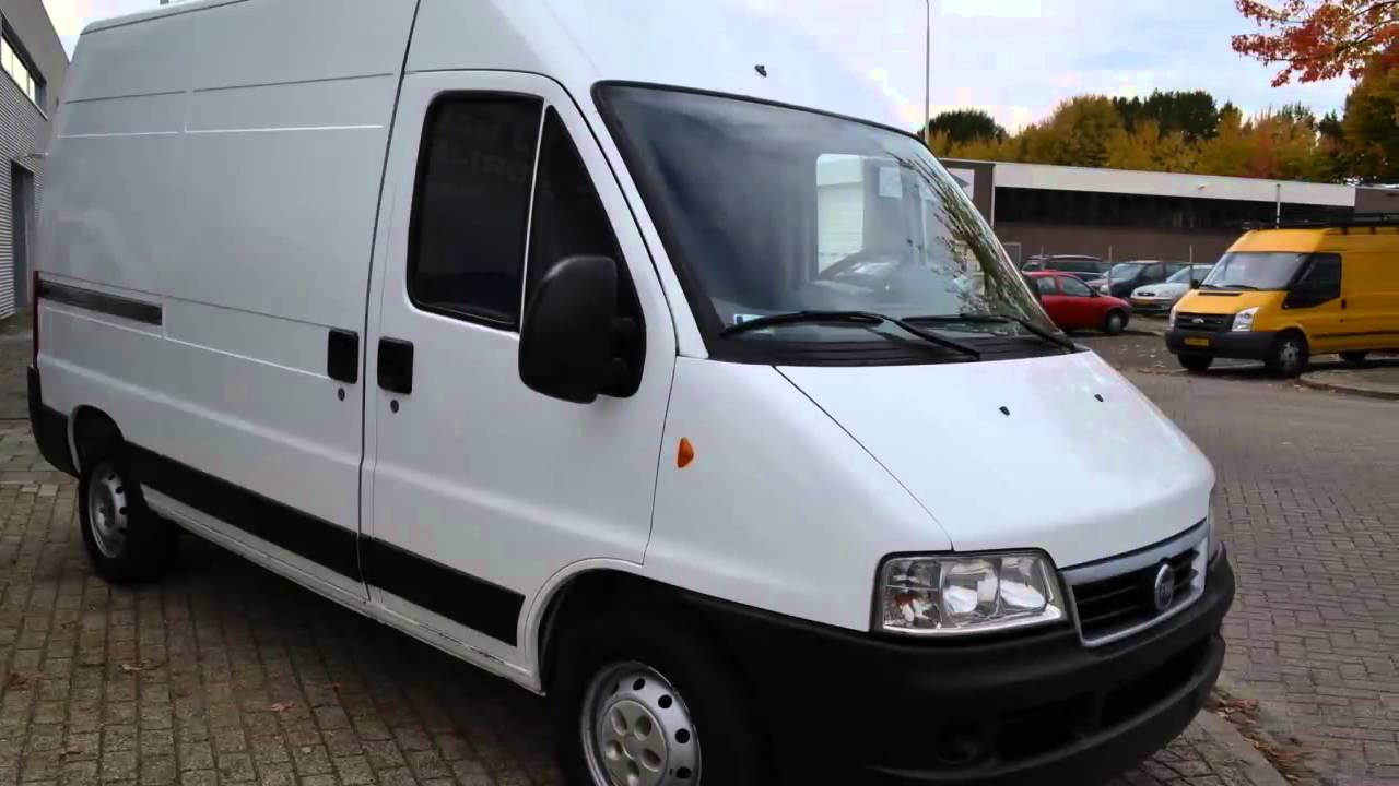 fiat ducato 2 8 jtd 93kw 4x4 youtube. Black Bedroom Furniture Sets. Home Design Ideas