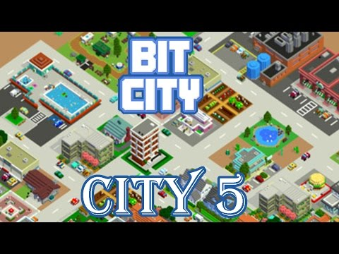 BIT CITY - CITY LEVEL 5 GAMEPLAY - (iOS / Android)