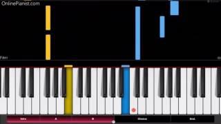 Shingeki no Kyojin OP2 - Jiyuu no Tsubasa - EASY Piano Tutorial - Attack on Titan Opening