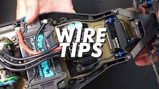 HOW TO SHORTEN WIRES    Servo wires, ESC Wires