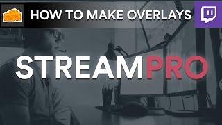 كيفية إنشاء مجانا تراكب على نشل الجري!   (StreamPro.io)