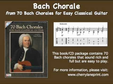 Bach Chorale for Easy Classical Guitar
