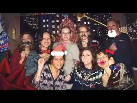 Princeton Plasma Physics Lab Holiday Party Photo Booth Montage by: Step It Up Events®